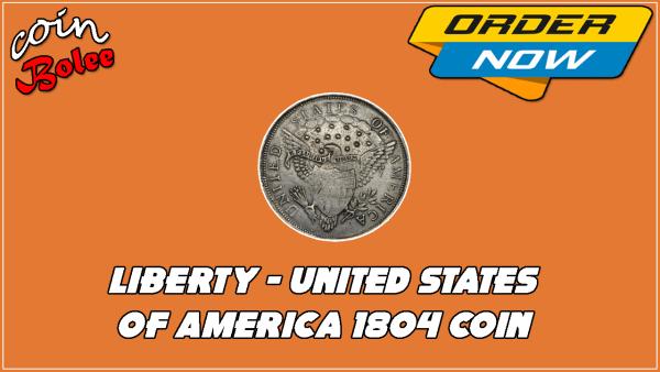 Liberty 1804 Silver Dollar