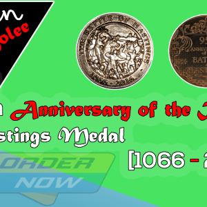 1066: 950th Anniversary of the BATTLE of HASTINGS Medal [1066 - 2016]