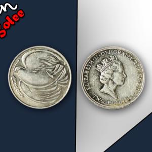 2 Pounds - Elizabeth II World War II; Gold Proof