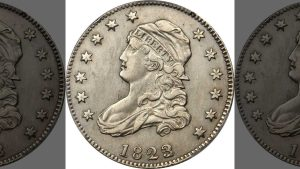 1823/2 Capped Bust quarter. (Stack's Bowers Galleries)