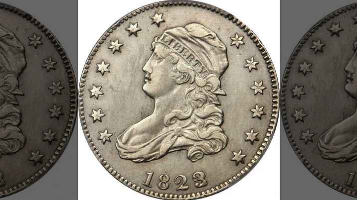 1823 Quarter Sells for $102,000 USD
