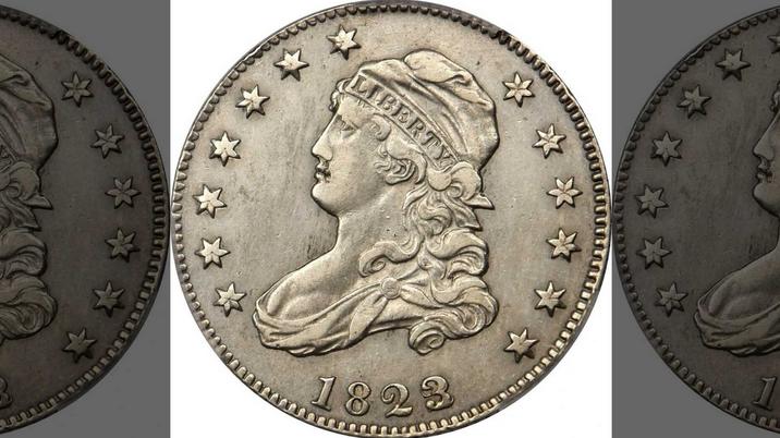 1823 Quarter Sells for $102,000 USD