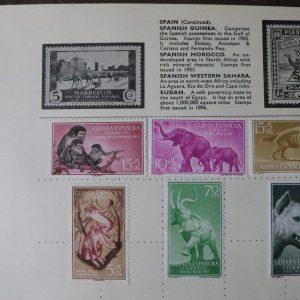 Spanish Guinea, Morocco, Western Sahara, Sudan Stamps