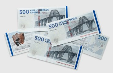 National Bank of Denmark Issued New 500-Krone Banknotes