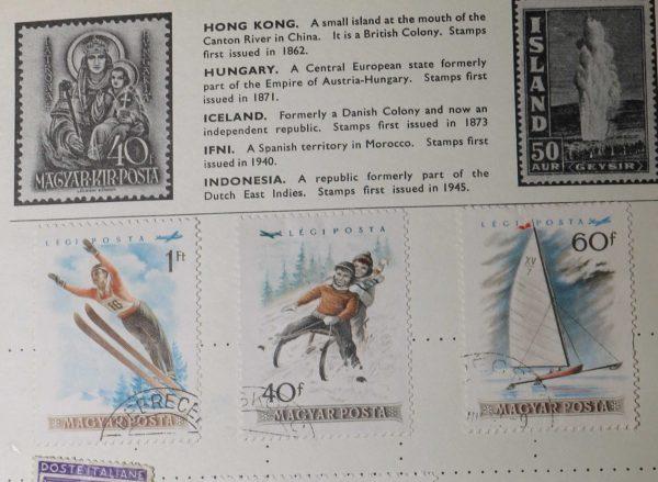 Magyar Kir Posta 40f PATRONA HVNGARIA Stamps